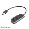 Akasa AK-AU3-05BK 60 cm USB 3.1 Gen2 Type-C//USB-C to 2.5-Inch SATA SSD//HDD Adapter Cable
